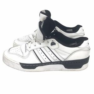 ADIDAS RIVALRY LOW SHOES CLOUD WHITE CORE BLACK